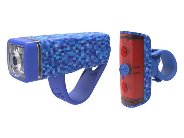 Knog POP Duo Set faretti Twinpack blu